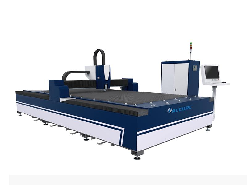 Kinijoje labiausiai žinomas ekonomiškai populiariausias pigiausias QIGO pluošto lazeriu pjaustymo mašina kaina metalo lakštams pjaustyti